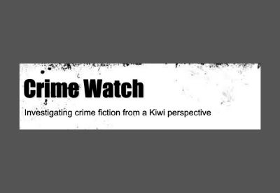 Image shows the logo for the Crime Watch blog from New Zealand