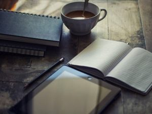 coffee notebook ebook writing