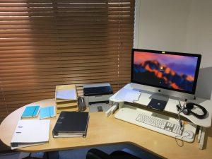 Rachel Amphlett crime fiction author office photo colour 3