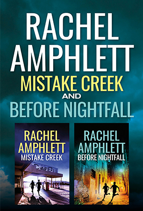 Cover image for Before Nightfall and Mistake Creek box set 2D