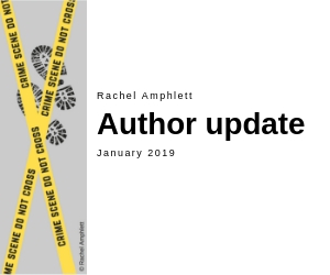 Rachel Amphlett Author update featured image