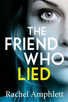 Cover image for The Friend Who Lied 288x432 pixels