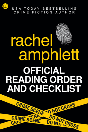 Cover image for Rachel Amphlett's Official Reading Order and Checklist