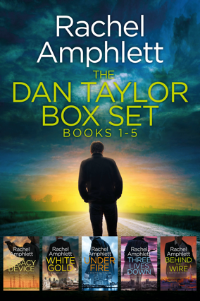 Cover image for Dan Taylor Box set books 1-5 284x426 pixels