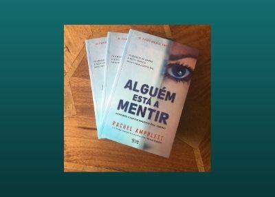Cover of The Friend Who Lied Portuguese translation Alguem esta a Mentir 400x286 pixels