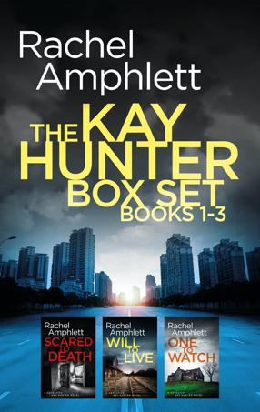 Cover image for Kay Hunter Box Set books 1-3 286x453 pixels