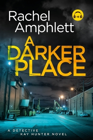 Image shows book cover for A Darker Place with an audiobook icon