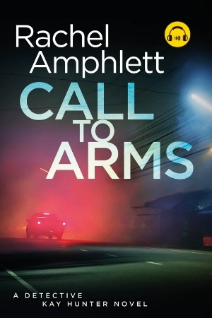 Image shows book cover for Call to Arms with an audiobook icon