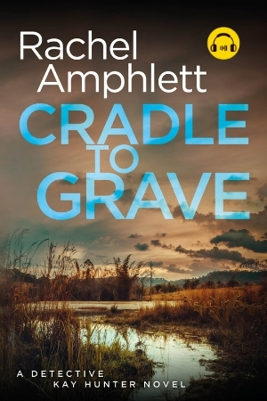 Image shows book cover for Cradle to Grave with an audiobook icon