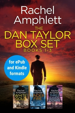Image shows book cover for Dan Taylor box set 1-3 for ePub and Kindle formats