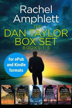 Image shows book cover for Dan Taylor box set 1-5 for ePub and Kindle formats
