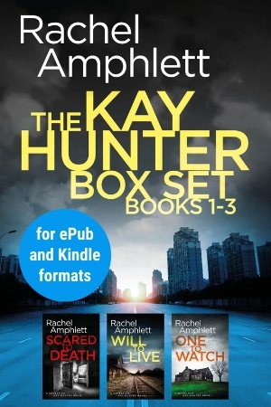 Image shows book cover for Kay Hunter box set 1-3 for ePub and Kindle formats