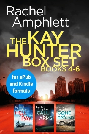 Image shows book cover for Kay Hunter box set 4-6 for ePub and Kindle formats