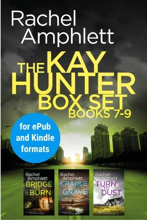 Image shows book cover for Kay Hunter box set 7-9 for ePub and Kindle formats