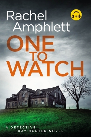 Image shows book cover for One to Watch with an audiobook icon