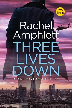 Image shows book cover for Three Lives Down with an audiobook icon