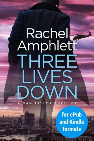 Image shows book cover for Three Lives Down for ePub and Kindle formats