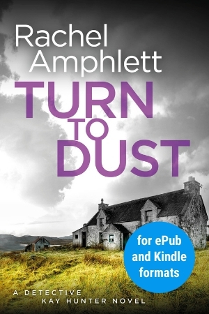 Image shows book cover for Turn to Dust for ePub and Kindle formats
